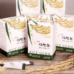 에이원 이쌀눈 국산 현미100 볶음 쌀눈 6BOX(180포)