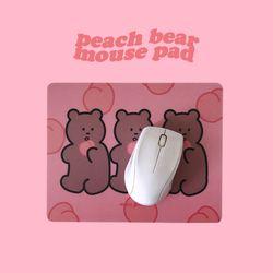 peach bear mouse pad 피치베어 마우스패드