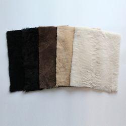 재단무스탕[30X20] 가죽공예 공방재료 악세사리제작