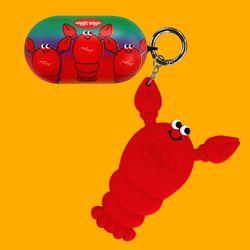갤럭시 버즈케이스&키링SET - Lobster