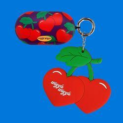 갤럭시 버즈케이스&키링SET - Funky Cherry
