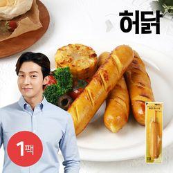 허닭 닭가슴살 소시지 후랑크 옥수수콘 1팩