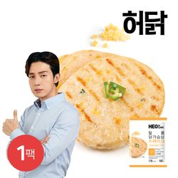 허닭 일품 닭가슴살 스테이크 치즈불닭 100g 1팩