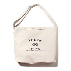 YOUTH 2WAY BAG-IVORY