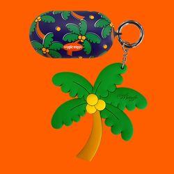 갤럭시 버즈케이스&키링SET - Funky Palm Tree