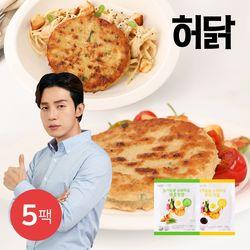 허닭 닭가슴살 스테이크 100g 5팩