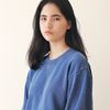 Minimal Pigment Sweatshirt Indie blue