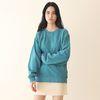 Minimal Pigment Sweatshirt Bluish green