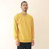 Minimal Pigment Sweatshirt Mustard