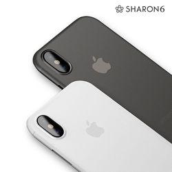 샤론6 아이폰 X  아이폰 XS용 시스루 케이스