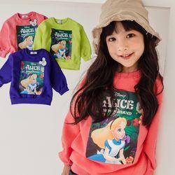 앨리스2 맨투맨티셔츠 7세부터 11세까지 3컬러 택1