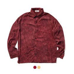 오버핏 레오파드 셔츠  (2color)