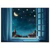 중형 패브릭 포스터 F311 풍경 북유럽 그림 액자 나이트 스카이
