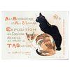 중형 패브릭 포스터 F313 동물 그림 아이방 액자 빈티지 고양이