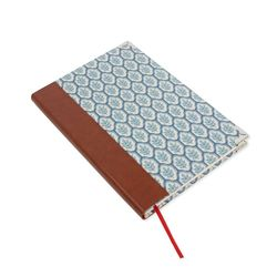 노트만들기가죽등 슬림형 KIT (로코코 블루)