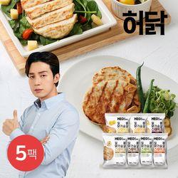 허닭 일품 닭가슴살 스테이크 100g 5팩