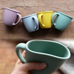 파스텔 실리콘 컵 머그컵 4color