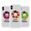 [T]안녕플라워 투명 젤리 케이스.아이폰5S(SE)