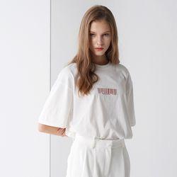 BAR-CODE SIGNATURE T-SHIRTS WHITE