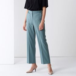 STRAIGHT SET-UP PANTS BLUE