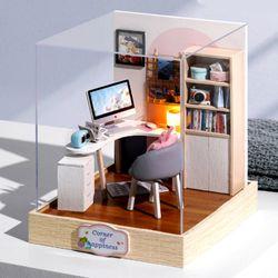 [adico]DIY 미니어처 스페셜 키트 - 공부방