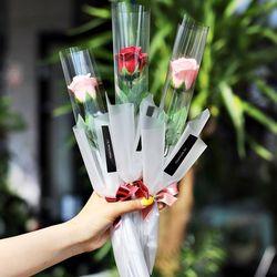 한송이 장미 꽃다발 - 비누 답례품 졸업식 축하 선물