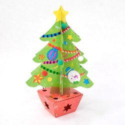 (몽스쿨)KY2012 크리스마스만들기 반짝트리(4set)