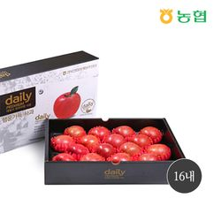[명절선물] 농협 경북데일리 사과선물세트 5kg 16내 (+보자기)