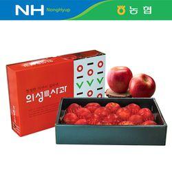 [농협] 경북 의성진 사과 명절 선물세트 5kg 19내 (+보자기)