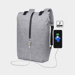 [Picano 정품] 통풍 슬림라인 USB충전 스마트 백팩