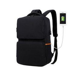 [Picano 정품] 포인트 2포켓 USB충전 스마트 백팩