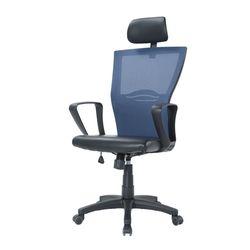 젠틀맨 사무용의자 책상의자 컴퓨터의자-블랙5발大