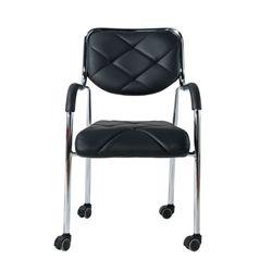111 밀대 회의의자 휴게실의자 등받이의자 바퀴형