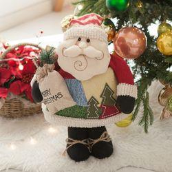 뚱뚱이산타 50cm 크리스마스 인형 장식 소품 TRDOLC