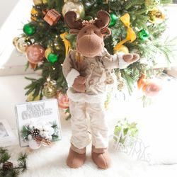 키크는통바지사슴인형 75cm 크리스마스 소품 TRDOLC
