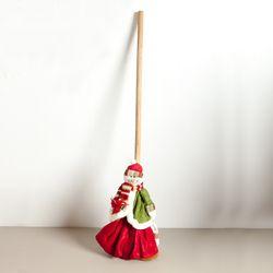 스노우맨빗자루 105cm 크리스마스 장식 소품 TRDOLC