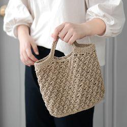 메이플 미니 가방 - 코바늘 키트