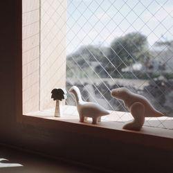 브라키오사우루스 원목 공룡