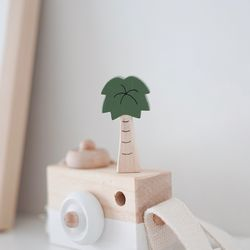 야자나무 원목 소품