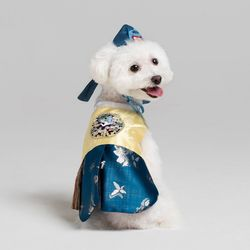 메종드독 강아지한복 가온쾌자