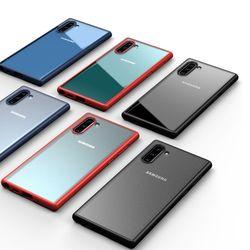 갤럭시노트10 플러스 5G 하이브리드 젤리범퍼케이스