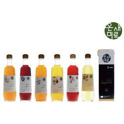 온새미로 발효원액 매실 오미자 블루베리 모과 자연쑥 감식초