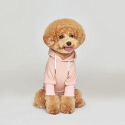 플로트 스탠다드 후드 핑크 강아지옷