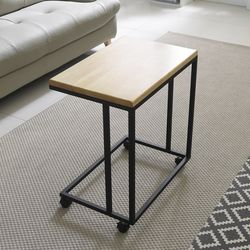 이지 원목 이동형 사이드 테이블 NGMF054