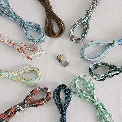 네스홈 패브릭 스트링 Fabric Cotton String 10종
