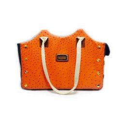 강아지 이동가방 펫코지 타조 모던백2 (오렌지)