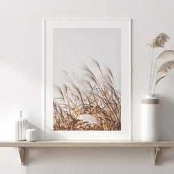 스테이 가을 들판 그림 인테리어 A3 포스터
