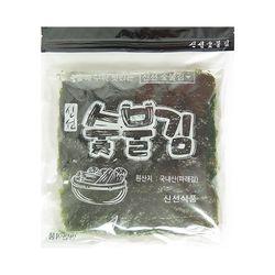 [20단계 소금 조절] 맛있는 신선숯불김 파래김 100장