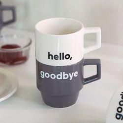 헬로굿바이 머그컵