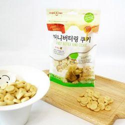 강아지간식 허니 버터링 쿠키 120g(장건강바나나)